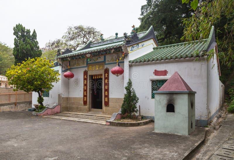 Ναός Tai Ο Lantau στο Χονγκ Κονγκ νησιών στοκ φωτογραφία