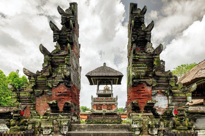 Ναός Taman Ayun Pura στο Μπαλί, Ινδονησία στοκ εικόνες με δικαίωμα ελεύθερης χρήσης