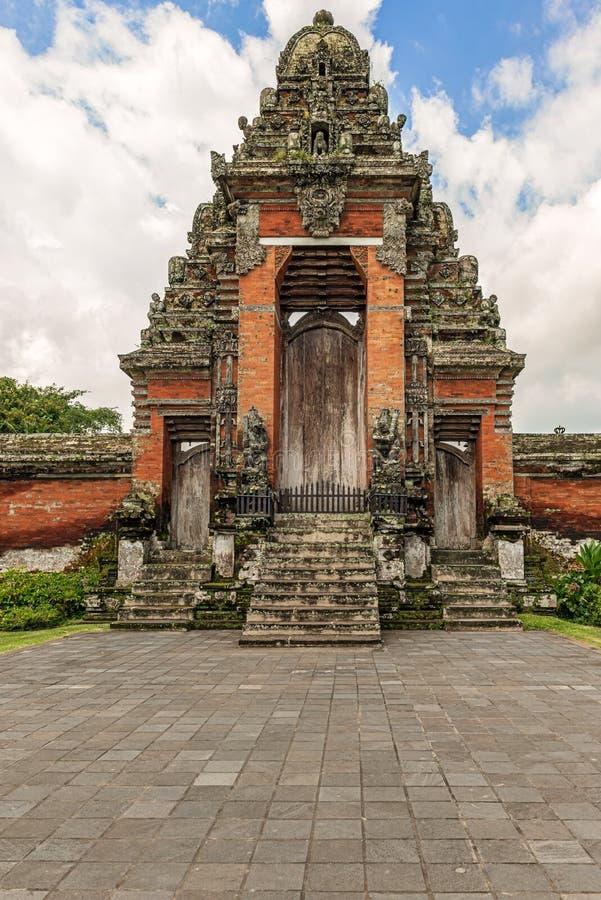 Ναός Taman Ayun Pura στο Μπαλί, Ινδονησία στοκ εικόνα
