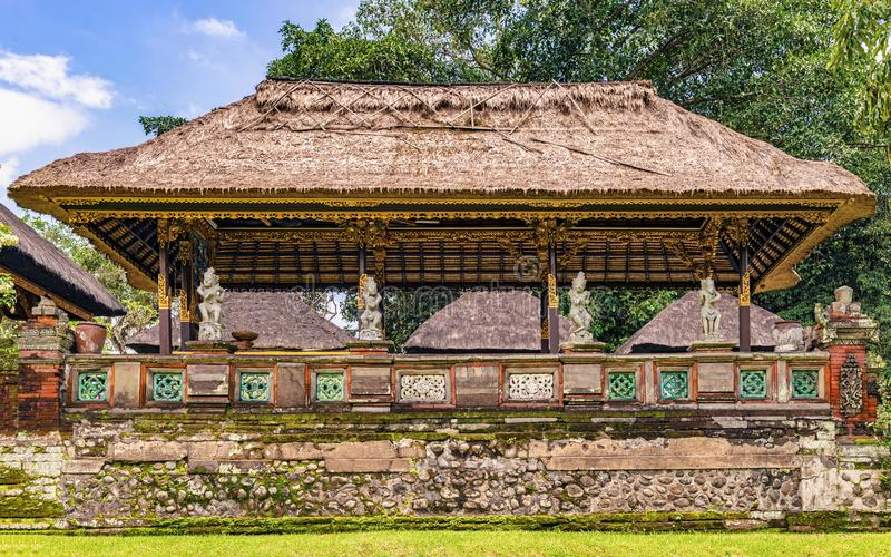 Ναός Taman Ayun Pura στο Μπαλί, Ινδονησία στοκ εικόνες