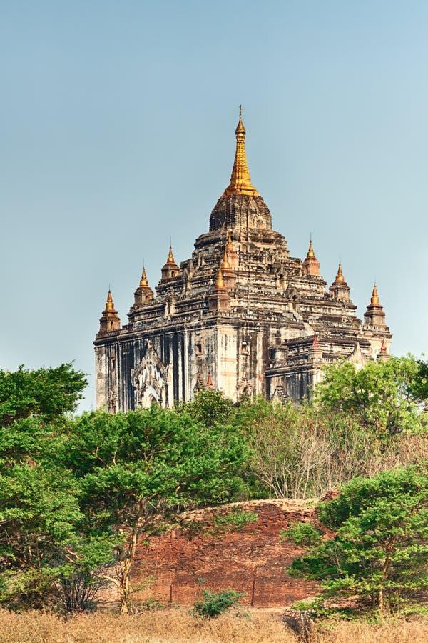 Ναός Thatbyinnyu σε Bagan στοκ φωτογραφία