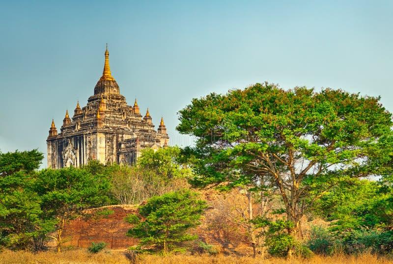 Ναός Thatbyinnyu σε Bagan στοκ φωτογραφίες με δικαίωμα ελεύθερης χρήσης