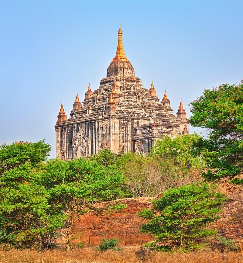 Ναός Thatbyinnyu σε Bagan στοκ φωτογραφίες