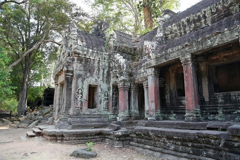 Ναός Thom Angkor σύνθετος, Καμπότζη στοκ εικόνα