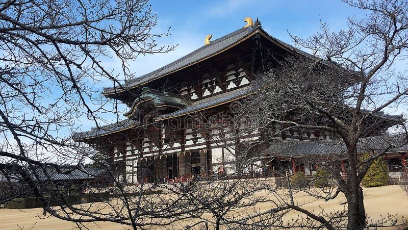 Ναός Todaiji στοκ φωτογραφία με δικαίωμα ελεύθερης χρήσης