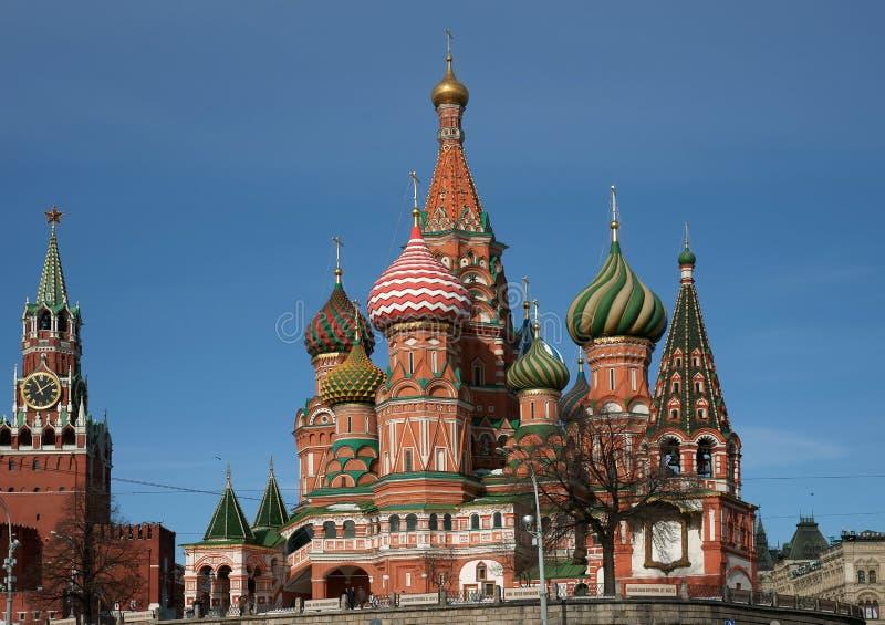 Ναός Vasily ευλογημένος. στοκ φωτογραφίες με δικαίωμα ελεύθερης χρήσης