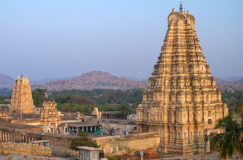 Ναός Virupaksha σε Hampi στοκ φωτογραφίες