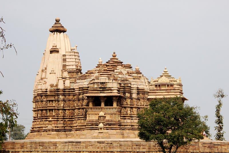 Ναός Vishwanath, Khajuraho στοκ εικόνες με δικαίωμα ελεύθερης χρήσης
