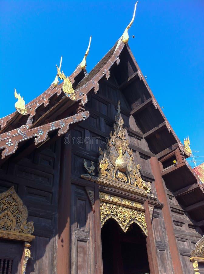 Ναός wat-παν-Tao στοκ εικόνες