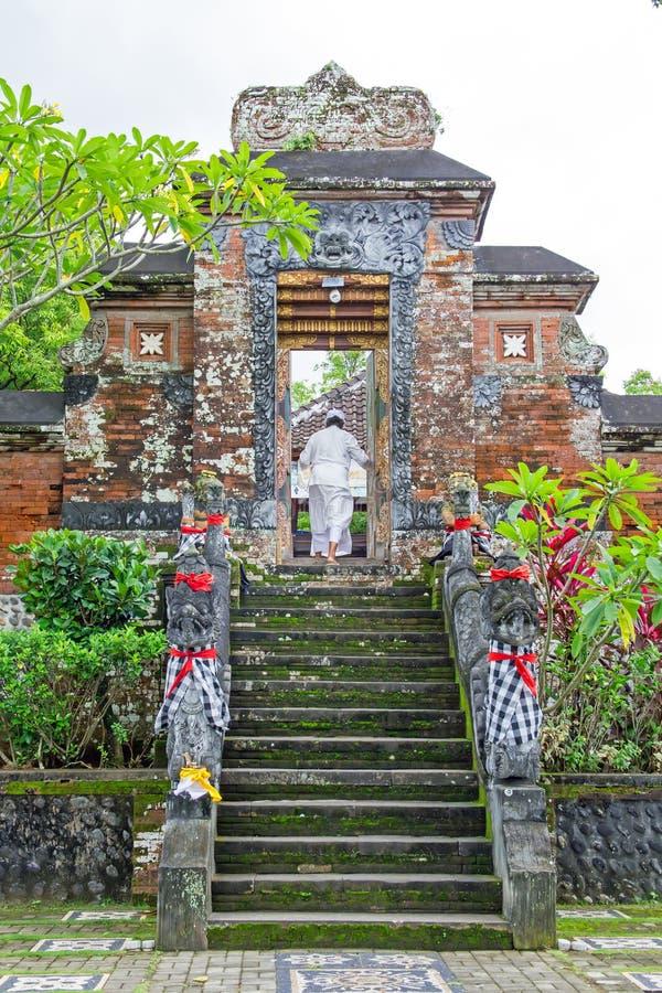 Ναός Yayasan Krama, Narmada, Lombok, Ινδονησία Miru στοκ φωτογραφίες με δικαίωμα ελεύθερης χρήσης