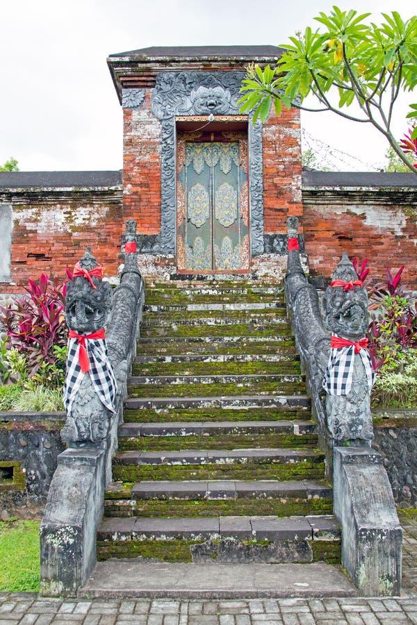 Ναός Yayasan Krama, Narmada, Lombok, Ινδονησία Miru στοκ εικόνες με δικαίωμα ελεύθερης χρήσης