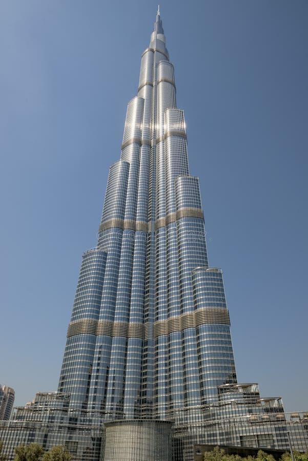 Να λάμψει Burji Khalifa στοκ εικόνες