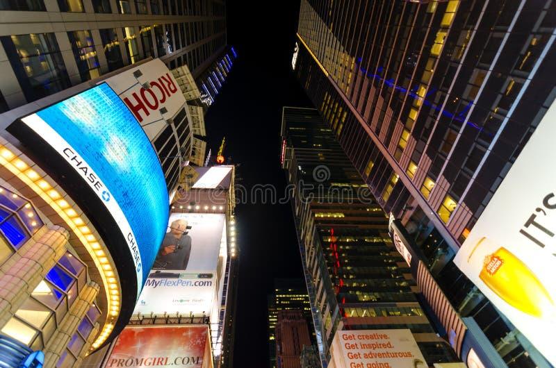 Να ανατρέξει ευθύς από το κέντρο της Times Square στο Eveni στοκ φωτογραφία με δικαίωμα ελεύθερης χρήσης