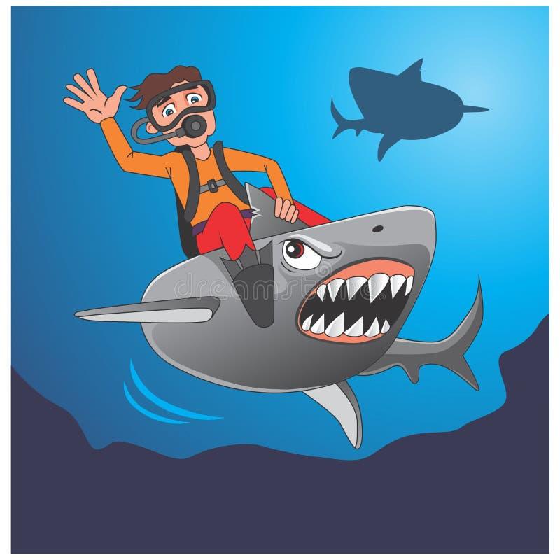 Να απελευθερώσει τον καρχαρία στοκ φωτογραφία με δικαίωμα ελεύθερης χρήσης