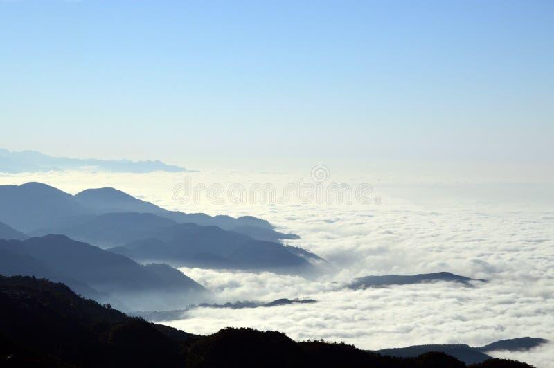 Να γοητεύσει άποψη από Mussoorie στοκ φωτογραφίες
