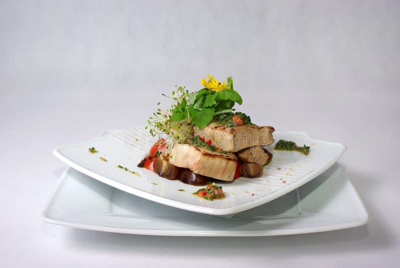 να δειπνήσει λεπτό πιάτο γεύματος στοκ φωτογραφία με δικαίωμα ελεύθερης χρήσης