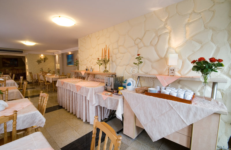 να δειπνήσει ξενοδοχεί&omicr στοκ φωτογραφία με δικαίωμα ελεύθερης χρήσης