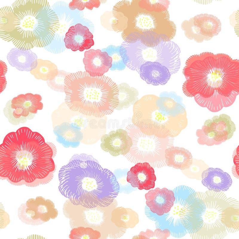 Να δει τα Floral αστέρια απεικόνιση αποθεμάτων