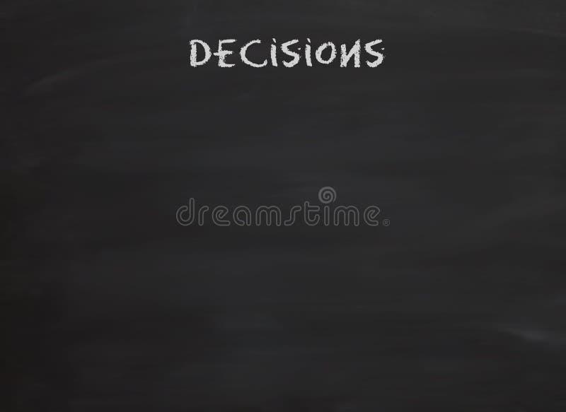 να είστε αποφάσεις που &lambd διανυσματική απεικόνιση