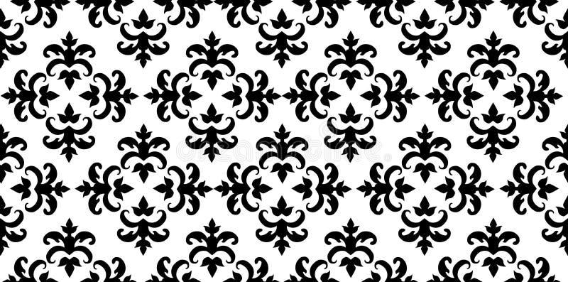 να είστε damask patterncan επαναλαμβανόμενη ταπετσαρία μετατροπής επίδρασης στοκ εικόνες με δικαίωμα ελεύθερης χρήσης