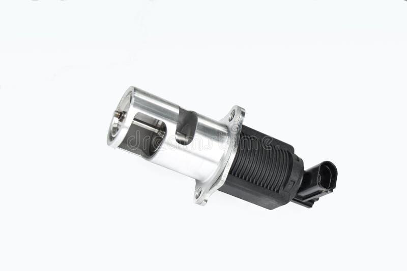να είστε egr αυτοκινήτων κοινά αέρια εξάτμισης μηχανών που το σύγχρονο περισσότερο μέρος διανέμει εκ νέου αντικατεστημένος valve  στοκ φωτογραφίες με δικαίωμα ελεύθερης χρήσης