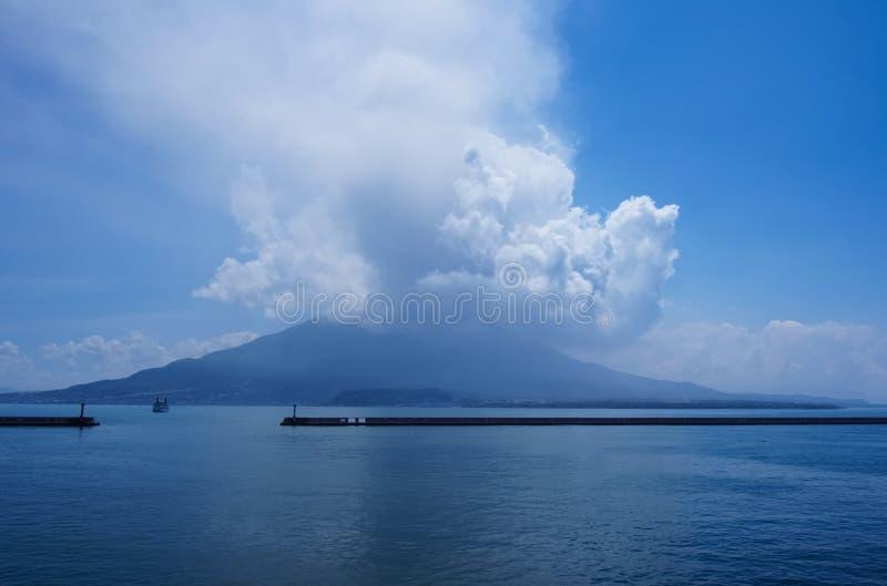 Να εκραγεί Sakura Jima στοκ εικόνα με δικαίωμα ελεύθερης χρήσης