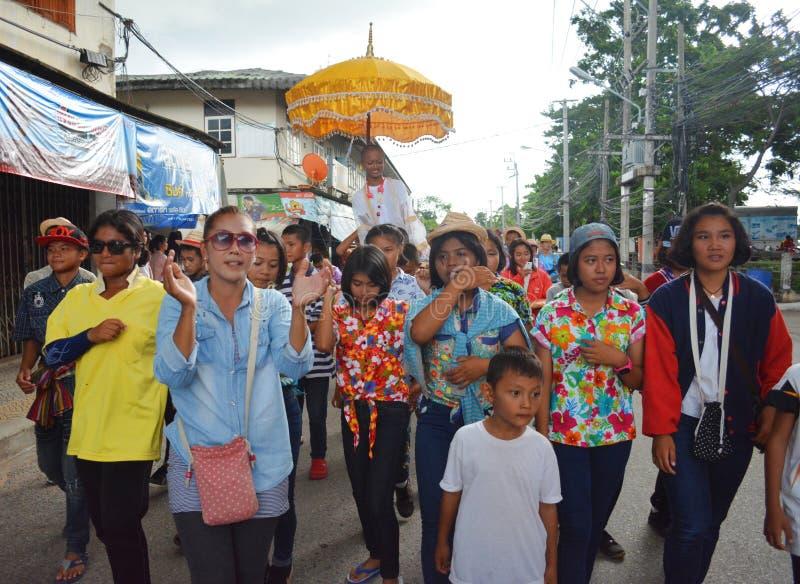 Να ενεργήσει παρέλαση της παράδοσης στοκ εικόνες με δικαίωμα ελεύθερης χρήσης