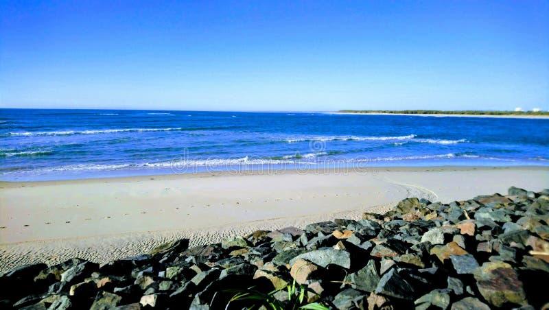 Να εξετάσει έξω το νησί Bribie στοκ φωτογραφία με δικαίωμα ελεύθερης χρήσης