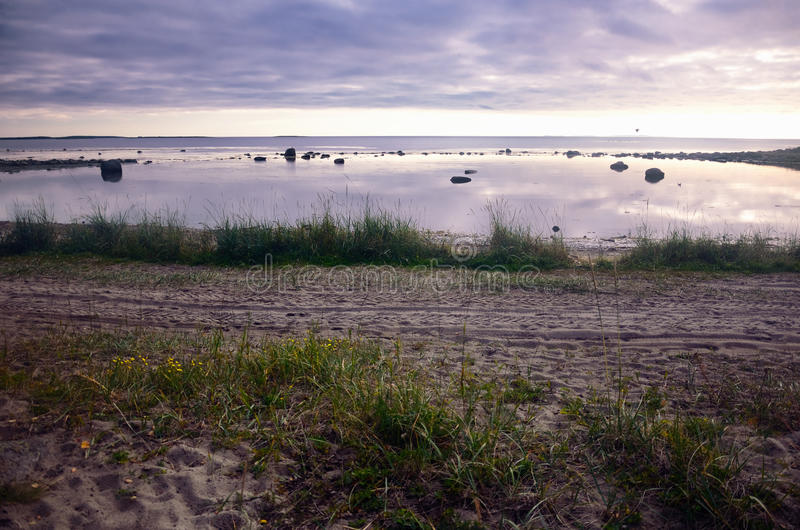 Να εξισώσει σε μια βόρεια θάλασσα στοκ φωτογραφία με δικαίωμα ελεύθερης χρήσης
