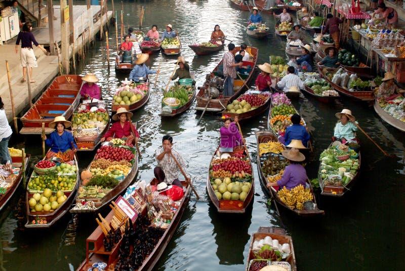Να επιπλεύσει αγορά στην Ταϊλάνδη. στοκ εικόνες με δικαίωμα ελεύθερης χρήσης