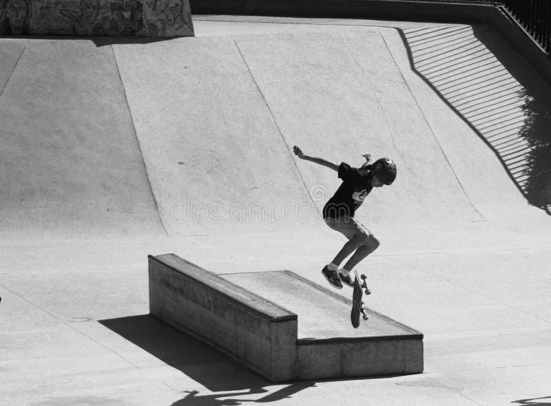 Να κάνει σκέιτ μπορντ στο Σάο Bernardo κάνει Campo στοκ φωτογραφία με δικαίωμα ελεύθερης χρήσης