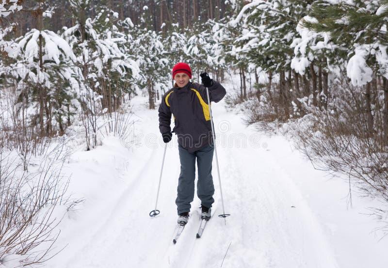 να κάνει σκι ατόμων στοκ φωτογραφίες με δικαίωμα ελεύθερης χρήσης