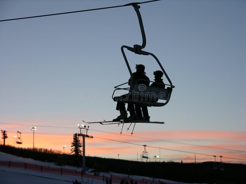 να κάνει σκι εδρών στοκ εικόνες με δικαίωμα ελεύθερης χρήσης