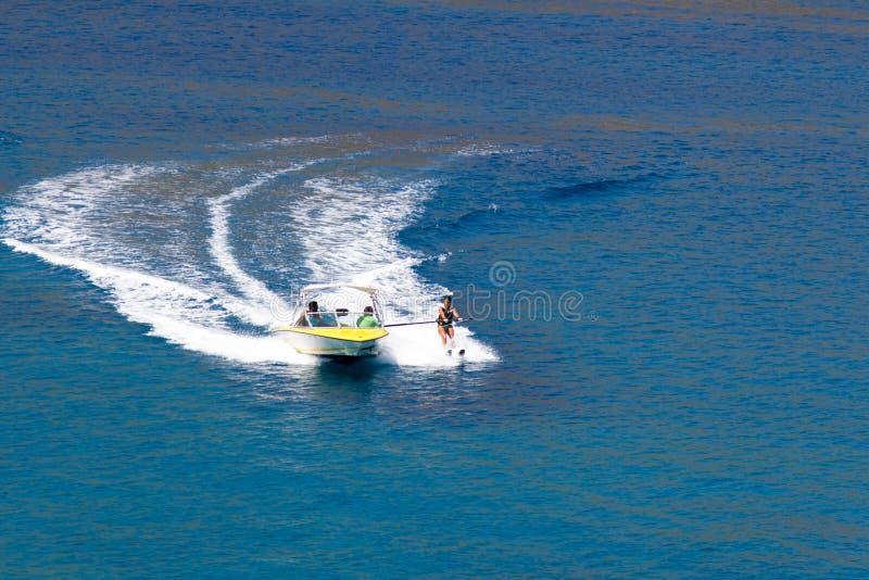 Να κάνει σκι νερού στοκ φωτογραφία με δικαίωμα ελεύθερης χρήσης