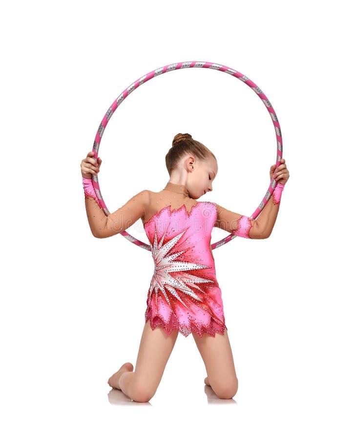 να κάνει τη γυμναστική κορ στοκ εικόνες