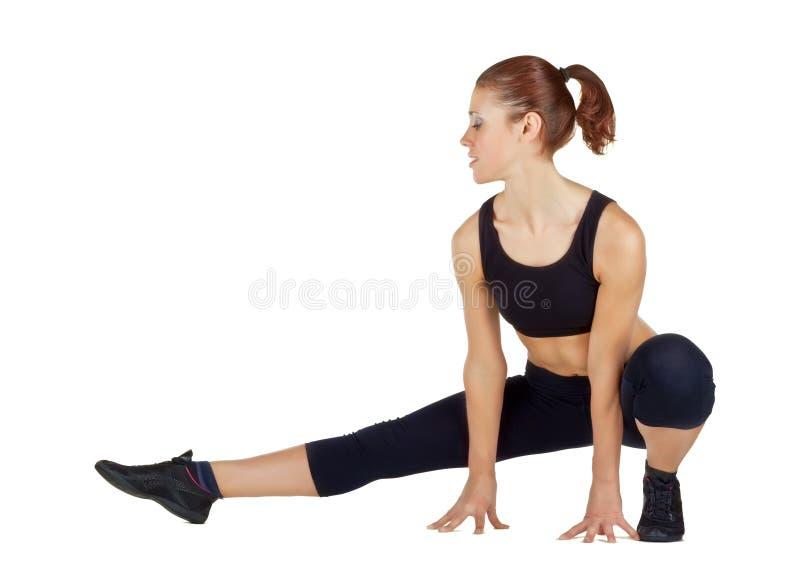 να κάνει τις νεολαίες γυναικών ικανότητας ασκήσεων στοκ φωτογραφίες με δικαίωμα ελεύθερης χρήσης