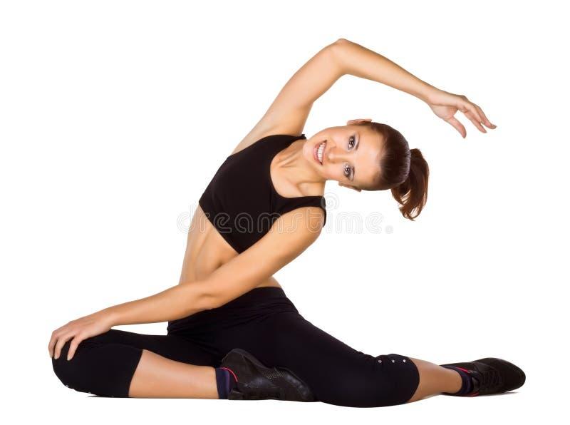 να κάνει τις νεολαίες γυναικών ικανότητας ασκήσεων στοκ εικόνες