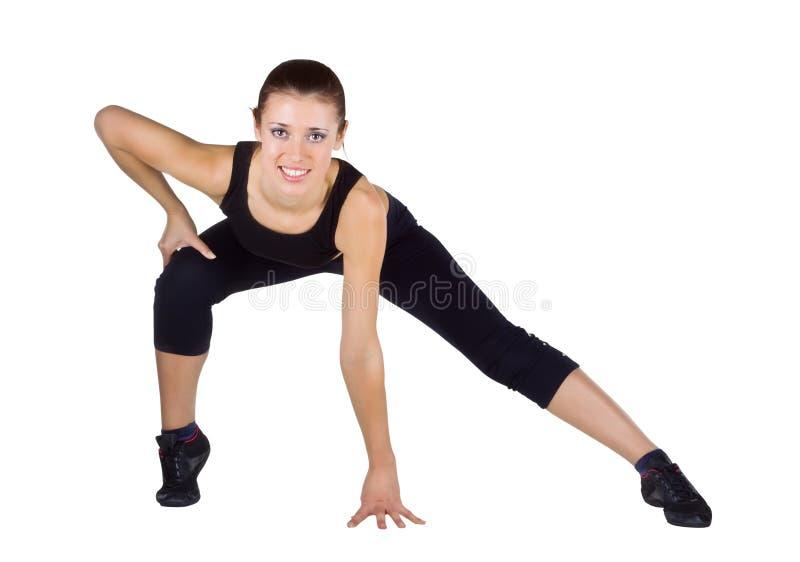 να κάνει τις νεολαίες γυναικών ικανότητας ασκήσεων στοκ εικόνες με δικαίωμα ελεύθερης χρήσης