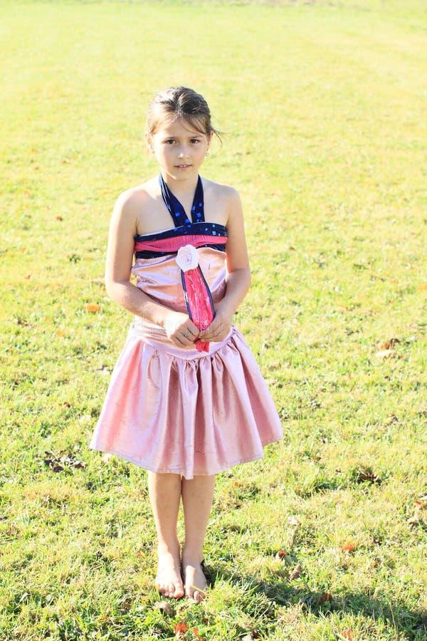 Να ντροπιάσει το μικρό κορίτσι στοκ εικόνες