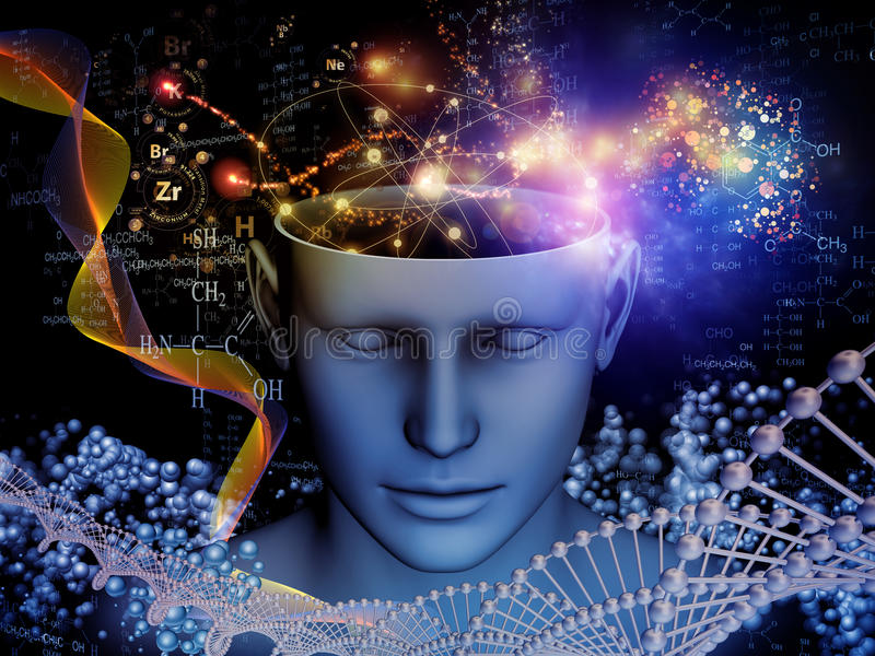 Να ξετυλίξει του μυαλού απεικόνιση αποθεμάτων
