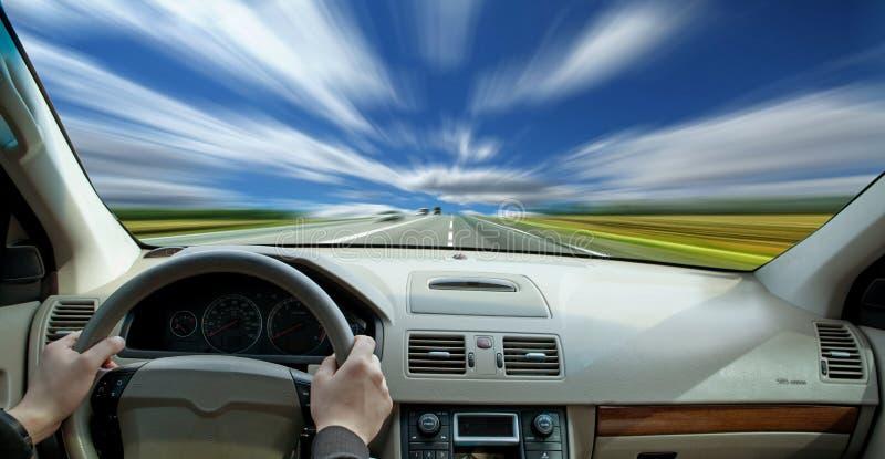 να οδηγήσει γρήγορα στοκ εικόνα
