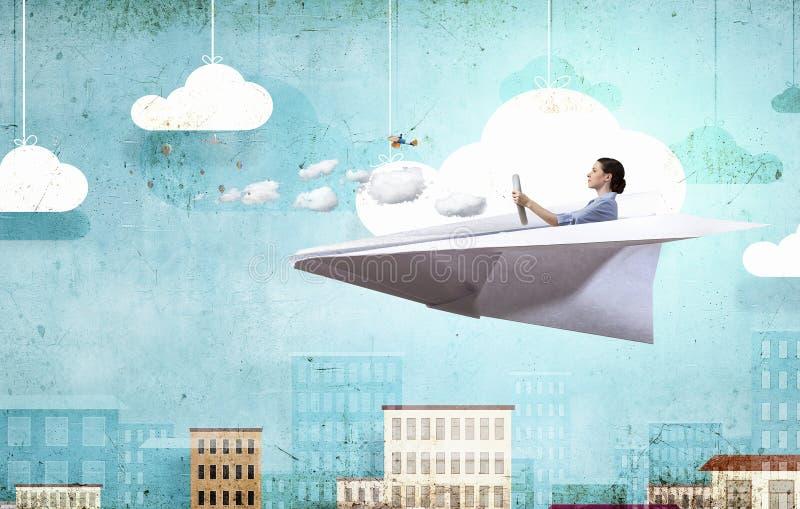 Να ονειρευτεί για τις διακοπές Μικτά μέσα στοκ φωτογραφία με δικαίωμα ελεύθερης χρήσης