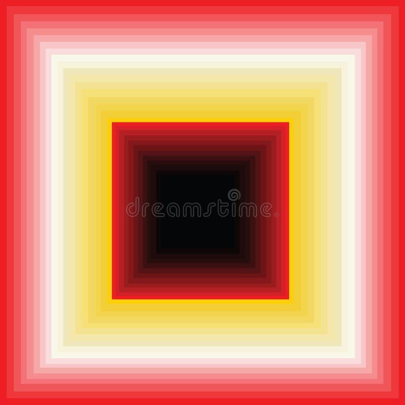 Να πέσει κάτω; ή ένας άπειρος διάδρομος διανυσματική απεικόνιση