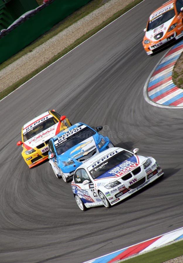 να περιοδεύσει πρωταθλήματος αυτοκινήτων του Μπρνο του 2009 κόσμος στοκ εικόνα με δικαίωμα ελεύθερης χρήσης
