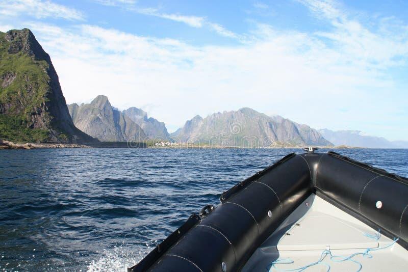 να περιπλεύσει djupfjord στοκ εικόνες με δικαίωμα ελεύθερης χρήσης