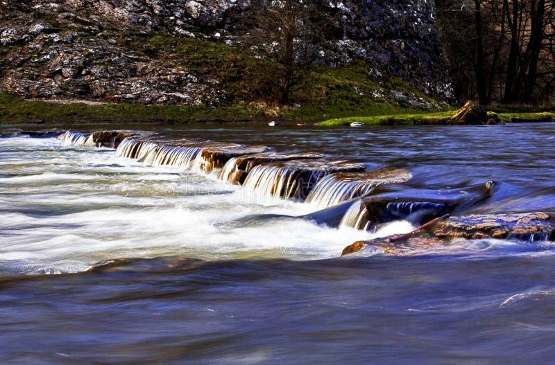 Να περπατήσει κοιλάδες Dovedale Derbyshire πετρών στοκ φωτογραφία με δικαίωμα ελεύθερης χρήσης