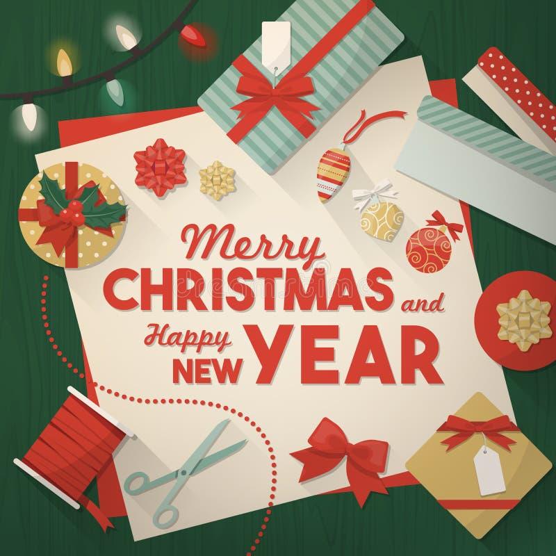 Να προετοιμαστεί για τα Χριστούγεννα ελεύθερη απεικόνιση δικαιώματος