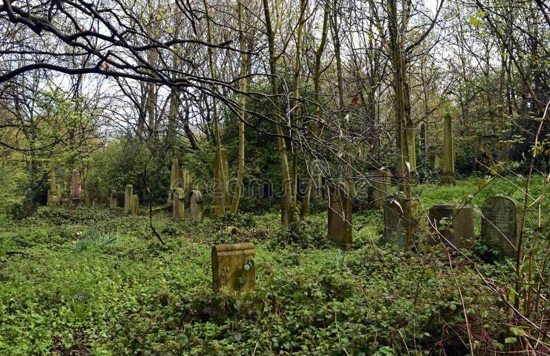 Να συχνάσει το νεκροταφείο και απόκοσμος στοκ φωτογραφίες με δικαίωμα ελεύθερης χρήσης