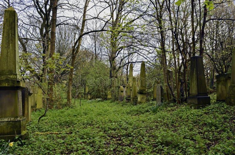 Να συχνάσει το νεκροταφείο και απόκοσμος στοκ φωτογραφία με δικαίωμα ελεύθερης χρήσης