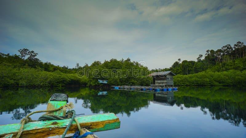 Να ταξιδεψει στον κόλπο mandeh στοκ φωτογραφίες με δικαίωμα ελεύθερης χρήσης